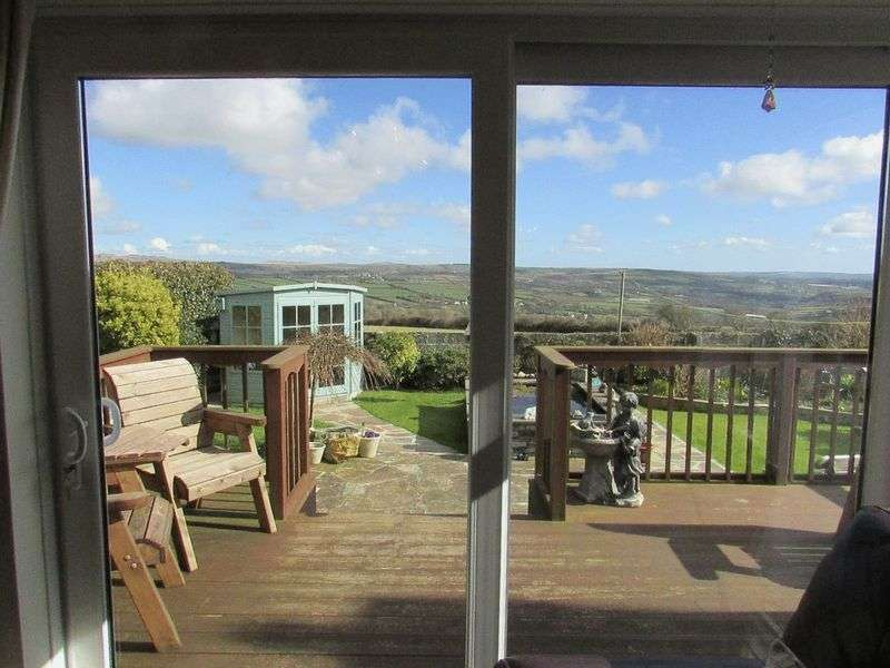 3 Bedrooms Detached Bungalow for sale in West Down Road, Delabole