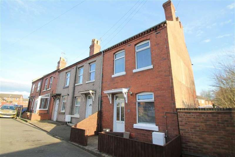2 Bedrooms End Of Terrace House for sale in Derby Terrace, Johnstown, Wrexham