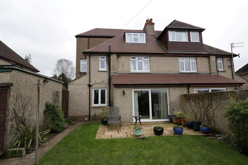 4 Bedrooms Semi Detached House for sale in Cowleymoor Road, Tiverton