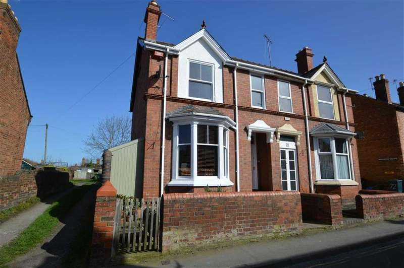 3 Bedrooms Semi Detached House for sale in 77, Trinity Street, Shrewsbury, SY3