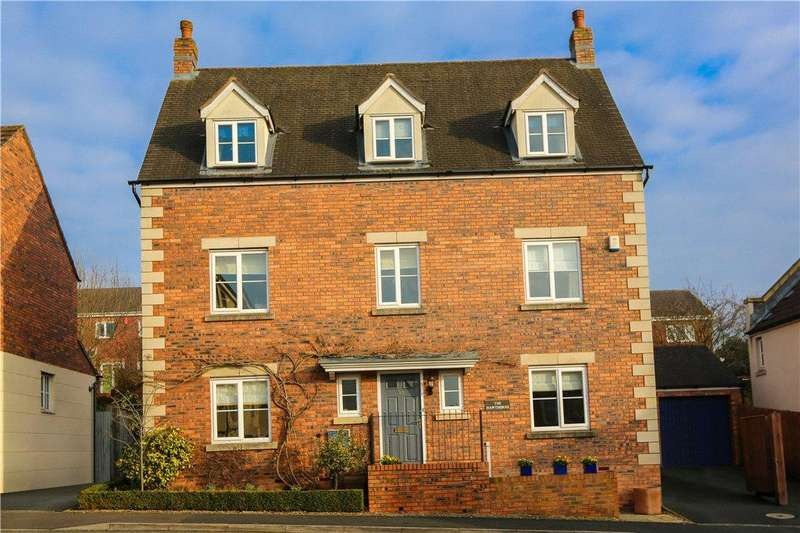 5 Bedrooms Detached House for sale in Garrick Road, The Oakalls, Bromsgrove, B60