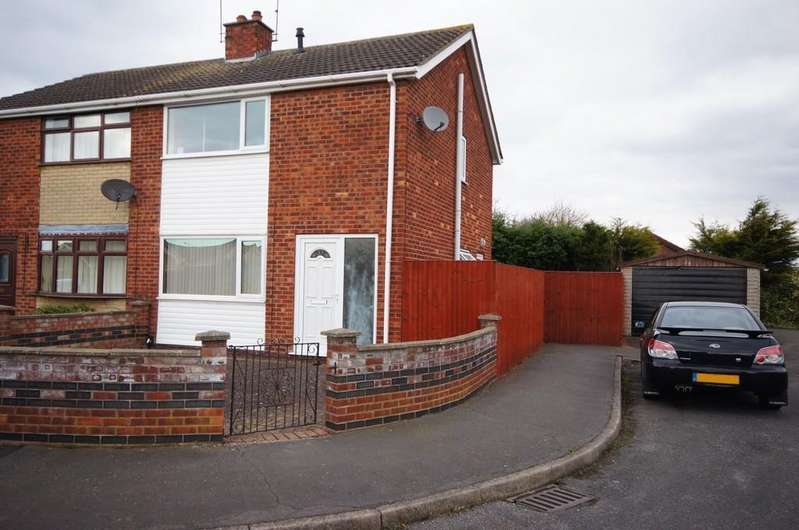 3 Bedrooms Semi Detached House for sale in Carral Close, Lincoln