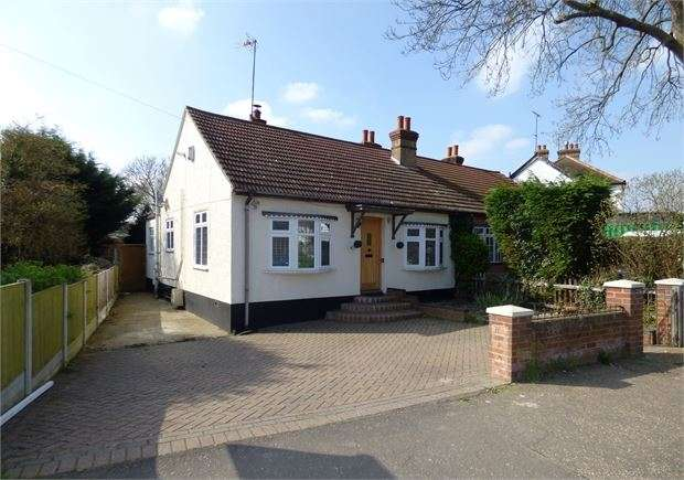 2 Bedrooms Semi Detached Bungalow for sale in Bellhouse Road, Leigh on sea, SS9 5NL