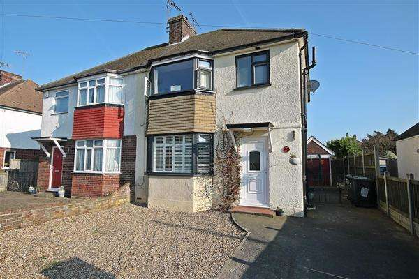 3 Bedrooms Semi Detached House for sale in Mount Road, Canterbury