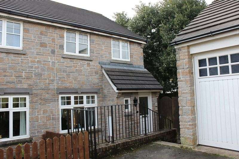 3 Bedrooms Semi Detached House for sale in Retallick Meadows, St. Austell