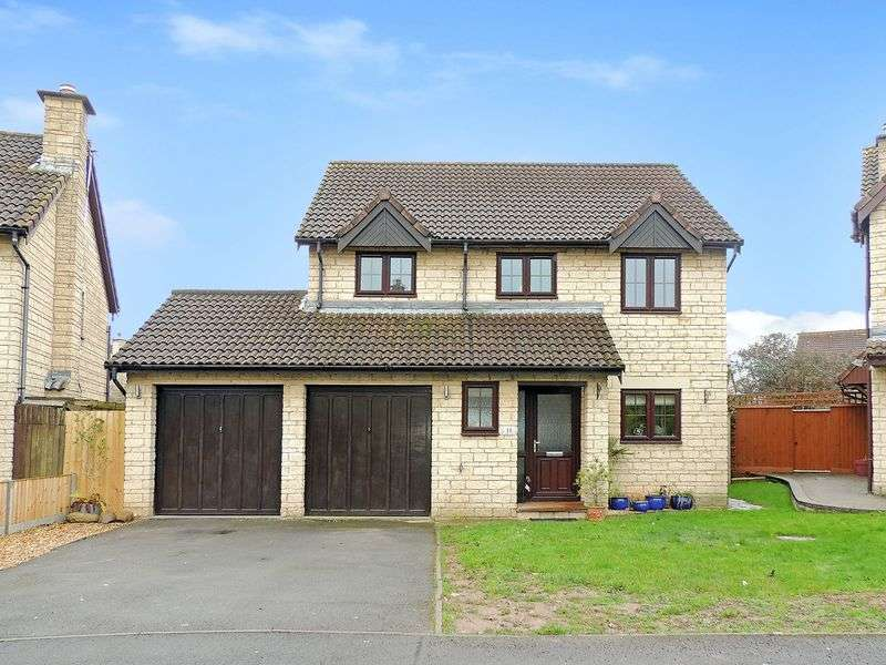 4 Bedrooms Detached House for sale in Hardy Court, Barrs Court, Bristol