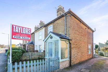 2 Bedrooms End Of Terrace House for sale in St.Neots Road, Sandy, Bedfordshire