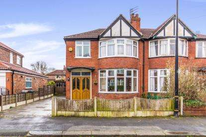 3 Bedrooms Semi Detached House for sale in Chestnut Drive, Sale, Greater Manchester