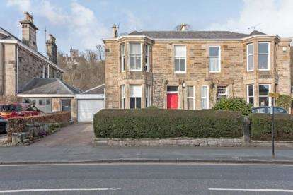 4 Bedrooms Semi Detached House for sale in Albert Place, Stirling