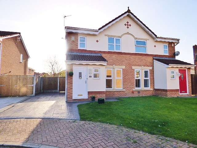 3 Bedrooms House for sale in Gordale Close, Whittle Hall, Warrington