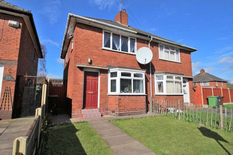 2 Bedrooms Semi Detached House for sale in Broadwaters Road, Wednesbury