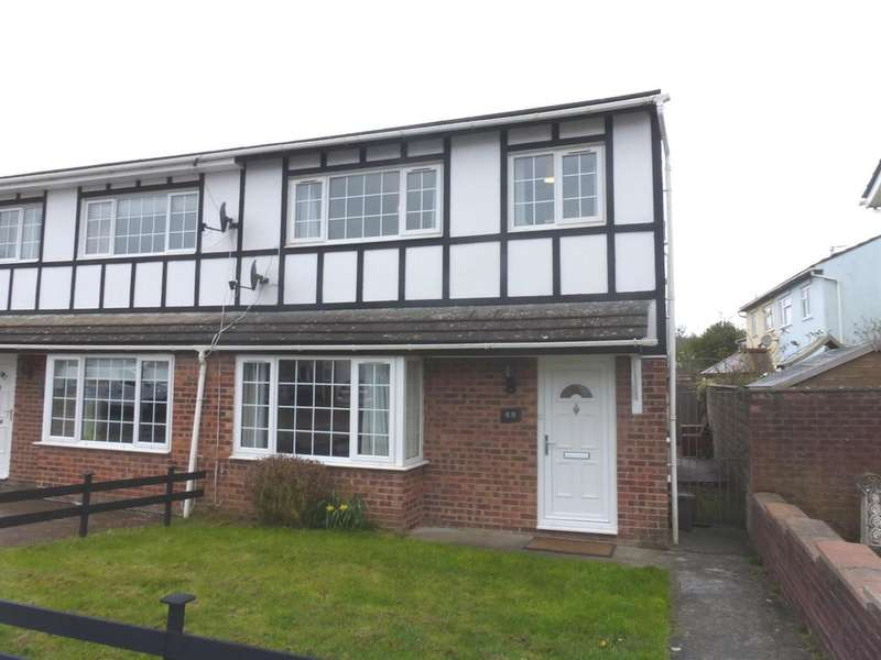 3 Bedrooms Semi Detached House for sale in Greenacres, South Cornelly, Bridgend
