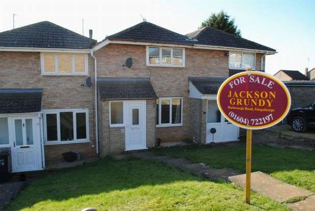 2 Bedrooms Terraced House for sale in Grasscroft, Kingsthorpe, Northampton NN2 8TR