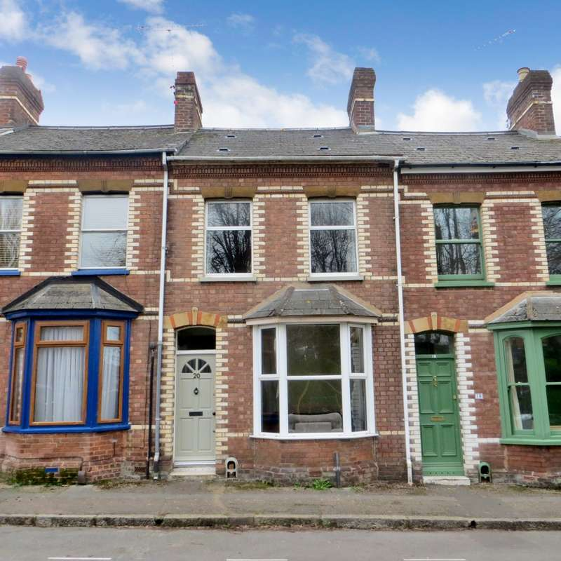 2 Bedrooms Terraced House for rent in Temple Road, Exeter