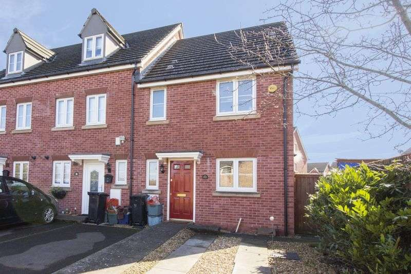 3 Bedrooms Terraced House for sale in Argosy Way, Newport