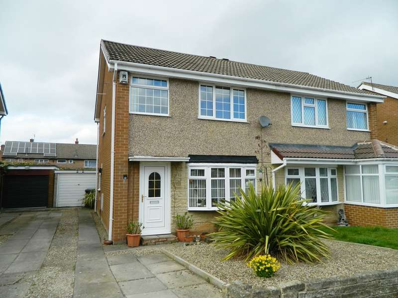 3 Bedrooms Semi Detached House for sale in Ledbury Way, Guisborough