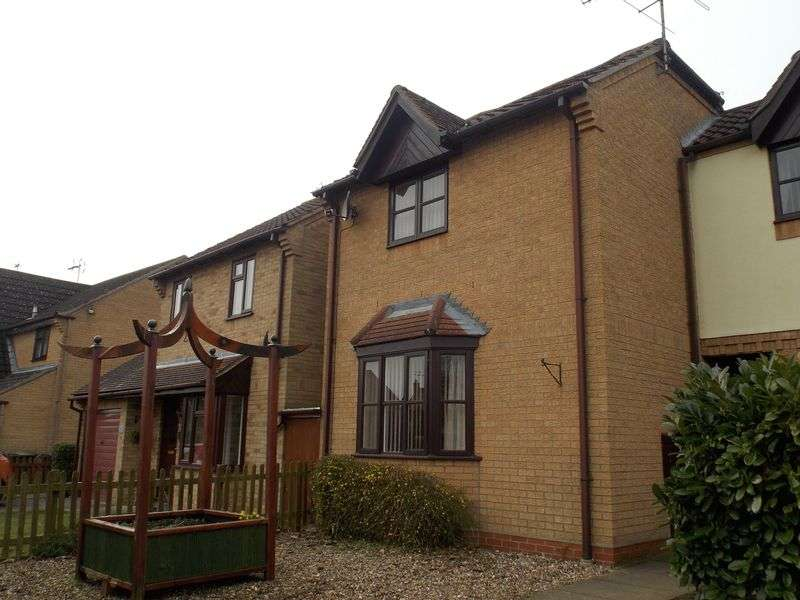 2 Bedrooms Terraced House for sale in Borley Crescent, Elmswell