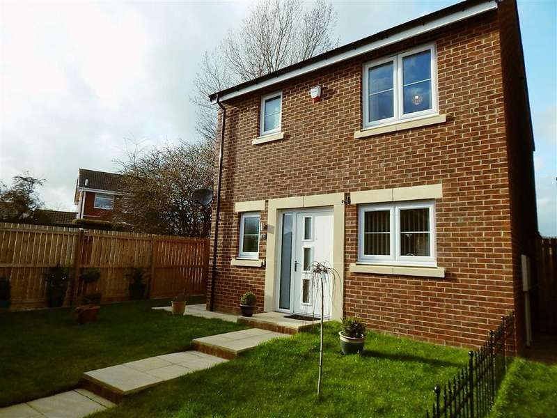 3 Bedrooms Detached House for sale in Hadrian Wynd, Addington Gate, Wallsend, NE28