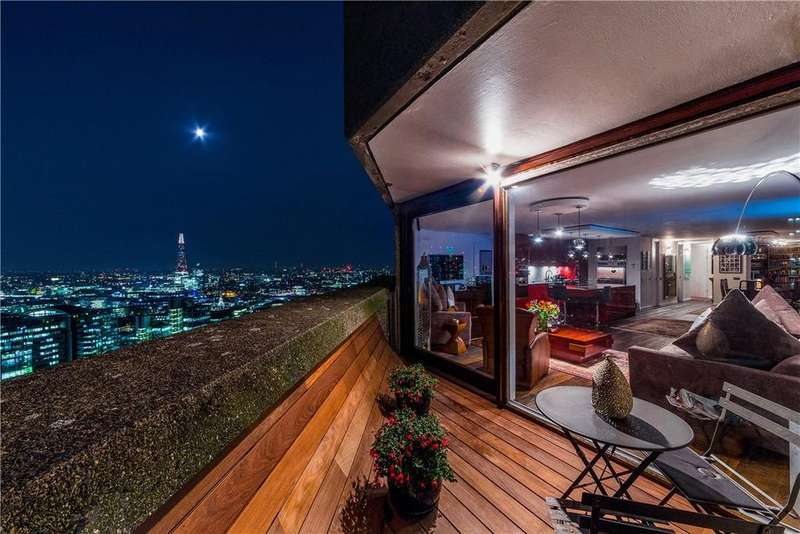 3 Bedrooms Penthouse Flat for sale in Lauderdale Tower, Barbican, City, London, EC2Y