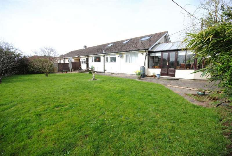 3 Bedrooms Semi Detached Bungalow for sale in Wet Lane, Draycott, Cheddar, Somerset, BS27
