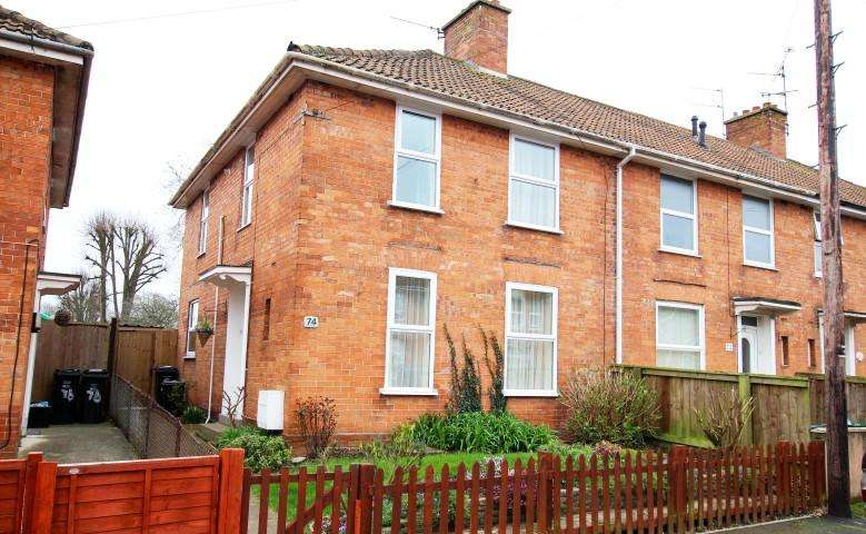 3 Bedrooms End Of Terrace House for sale in Kendale Road, Bridgwater TA6