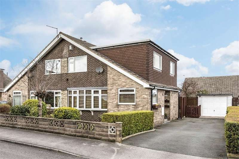 3 Bedrooms Semi Detached House for sale in Moorside Avenue, Drighlington, West Yorkshire