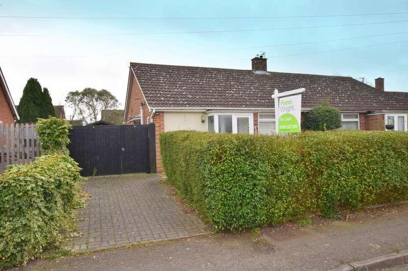 2 Bedrooms Semi Detached Bungalow for sale in Pot Kiln Road, Great Cornard, Sudbury