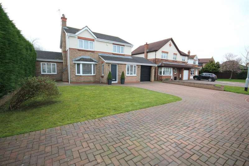 4 Bedrooms Detached House for sale in Chichester Close, Hartlepool
