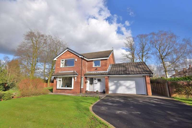 4 Bedrooms Detached House for sale in Grebe Close, Poynton