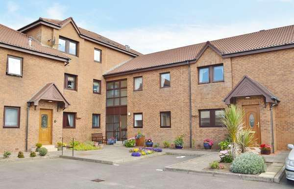 2 Bedrooms Flat for sale in 12 Lauriston Court, Ardrossan, KA22 8AG