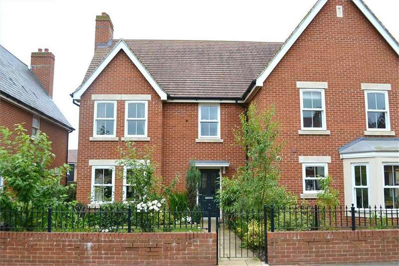4 Bedrooms Semi Detached House for sale in Planets Way, Biggleswade, SG18
