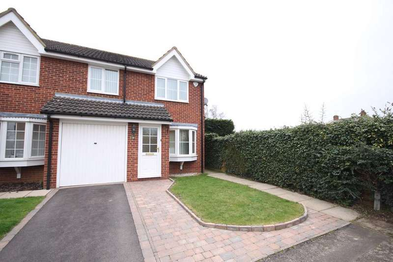 3 Bedrooms End Of Terrace House for sale in Elgar Drive, Shefford, SG17