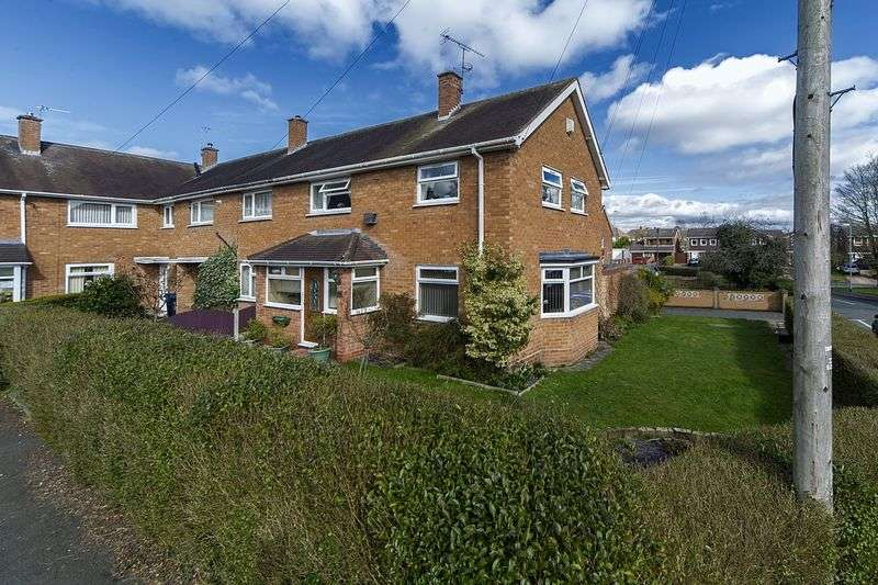 3 Bedrooms Semi Detached House for sale in Brookfield Road, Bilbrook, Wolverhampton