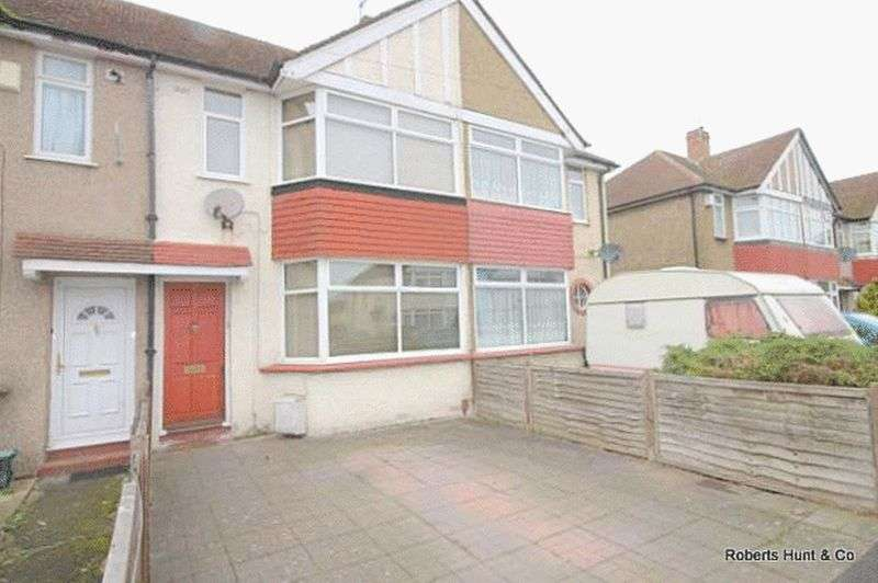 2 Bedrooms Terraced House for sale in Cravan Avenue, Feltham