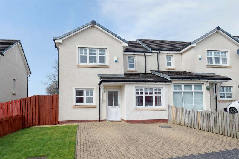 3 Bedrooms Semi Detached House for sale in Delaney Wynd, Cleland, Motherwell, North Lanarkshire, ML1 5FH