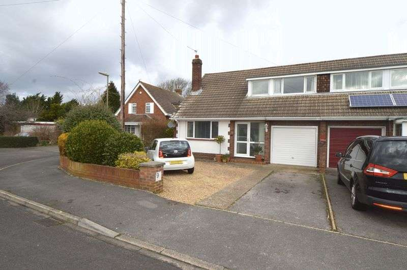 3 Bedrooms Semi Detached House for sale in Garnett Close, Stubbington, Fareham