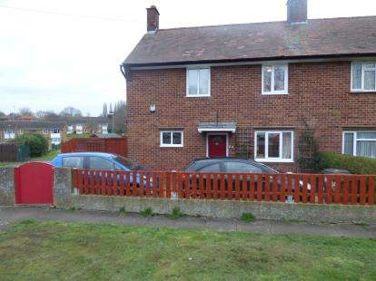 3 Bedrooms Semi Detached House for sale in Dallington Road, Dallington Village, Northampton, Northamptonshire