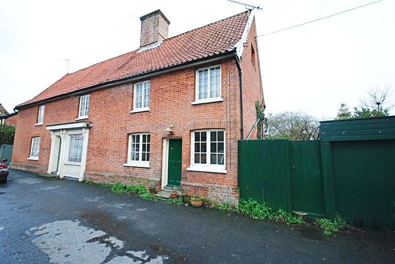 2 Bedrooms Semi Detached House for sale in Low Street, Hoxne, Eye