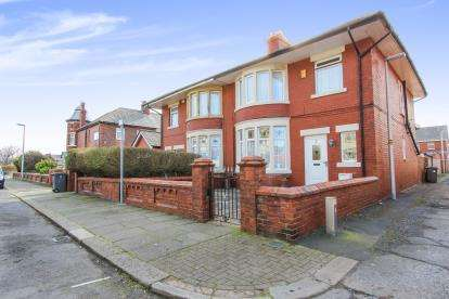 3 Bedrooms Semi Detached House for sale in Mersey Road, Blackpool, Lancashire, England, FY4
