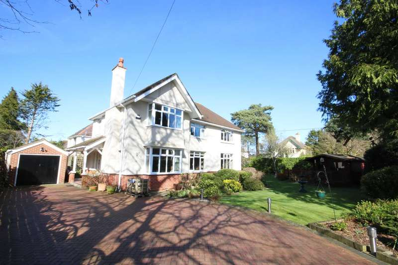 4 Bedrooms Detached House for sale in BH22 Glenwood Road, West Moors