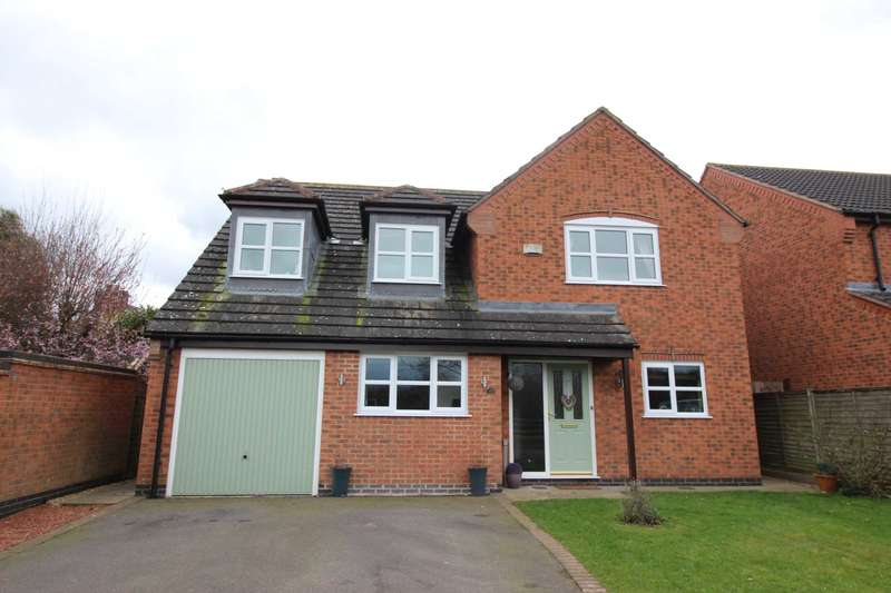 5 Bedrooms Detached House for sale in Mays Farm Drive, Stoney Stanton