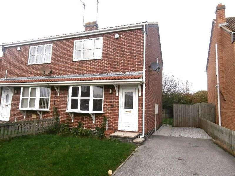 2 Bedrooms Semi Detached House for sale in Nursery Close, Thorngumbald
