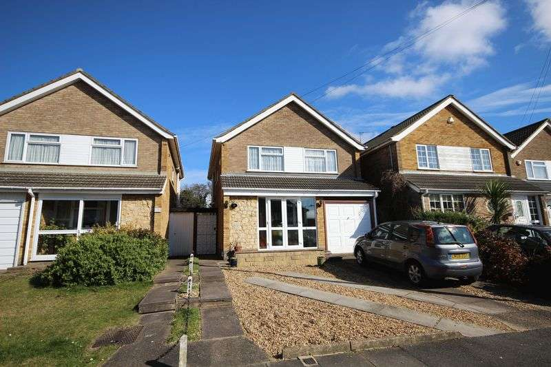 3 Bedrooms Detached House for sale in Broughton Avenue, Luton