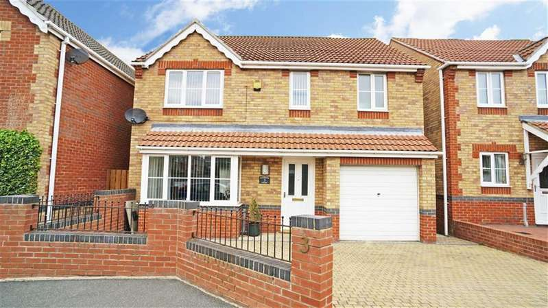 4 Bedrooms Property for sale in Rayburn Court, Blyth