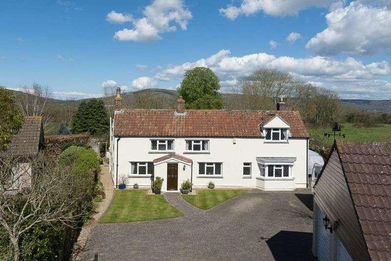5 Bedrooms Detached House for sale in Sparrow Hill Way, Weare, Nr Wedmore, Somerset, BS26 2LA