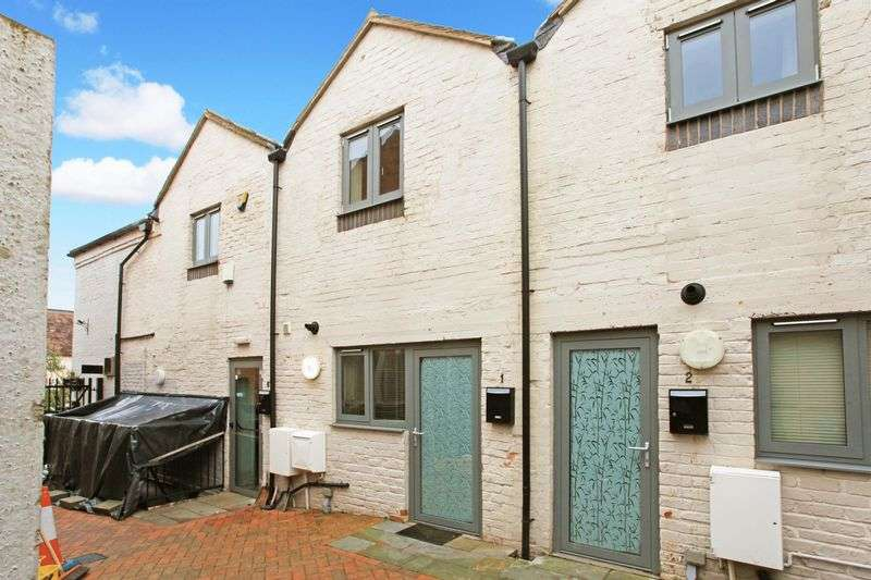 2 Bedrooms Terraced House for sale in Sams Jitty, High Street, Broseley