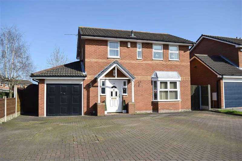 4 Bedrooms Detached House for sale in Bunbury Close