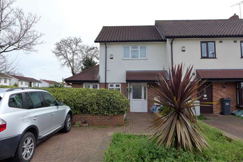 2 Bedrooms End Of Terrace House for sale in canterbury road, hanworth
