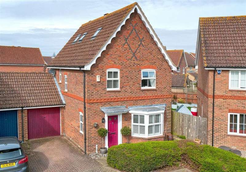 3 Bedrooms Detached House for sale in Mercers Place, Kings Hill, ME19 4PA