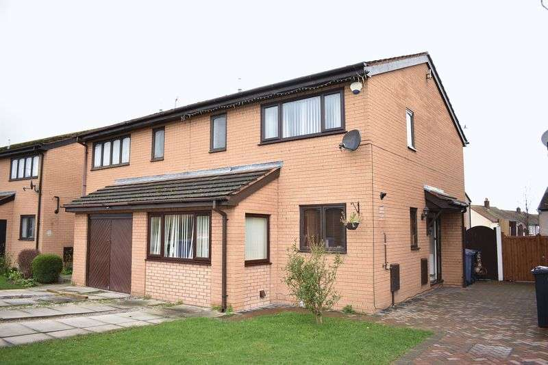 3 Bedrooms Semi Detached House for sale in Brynmor Avenue, Rhyl
